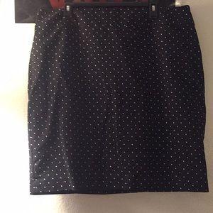 Liz Claiborne polka dotted skirt